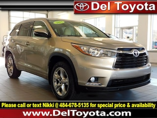 Used 2015 Toyota Highlander Limited SUV P8325 for sale in Thorndale, PA