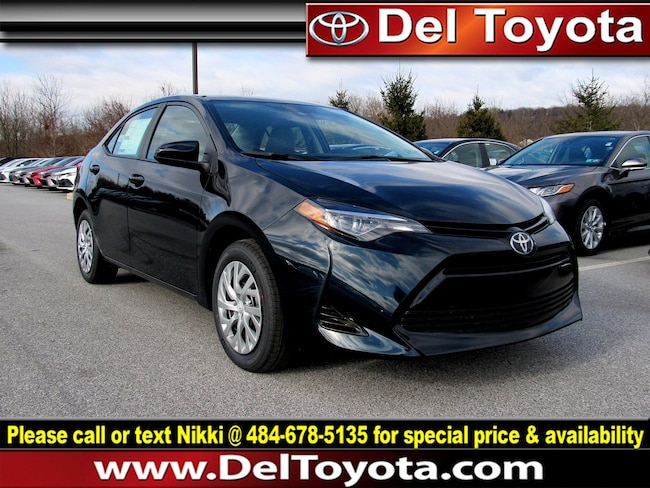 New 2019 Toyota Corolla LE Sedan 190839 for sale in Thorndale, PA