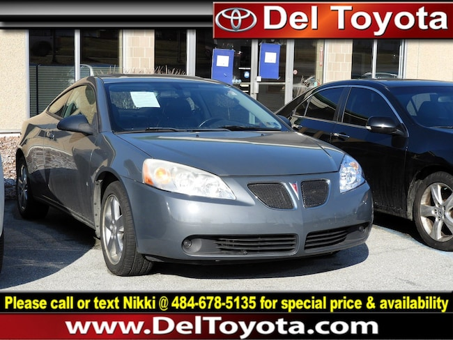 Used 2007 Pontiac G6 GT Coupe 190509A for sale in Thorndale