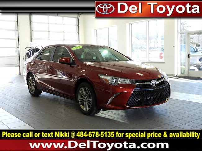 Used 2017 Toyota Camry SE Sedan 190119A for sale in Thorndale