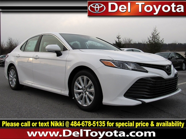 New 2019 Toyota Camry LE Sedan 190193 for sale in Thorndale, PA