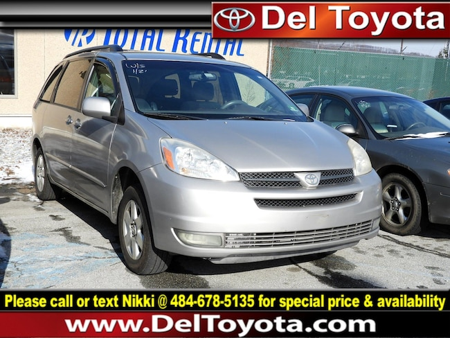 Used 2004 Toyota Sienna XLE Van 182374B for sale in Thorndale