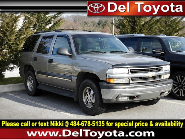 Used 2001 Chevrolet Tahoe LS SUV 190398A for sale in Thorndale
