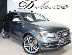 2015 Audi SQ5 Prestige Quattro AWD, Navigation, Rear-View Camera, Bluetooth Streaming Audio, Bang & Olufsen Surround Sound, Heated Leather Sport Seats, Panorama Sunroof, 354-HP Supercharged Engine, 21-Inch Alloy Wheels,