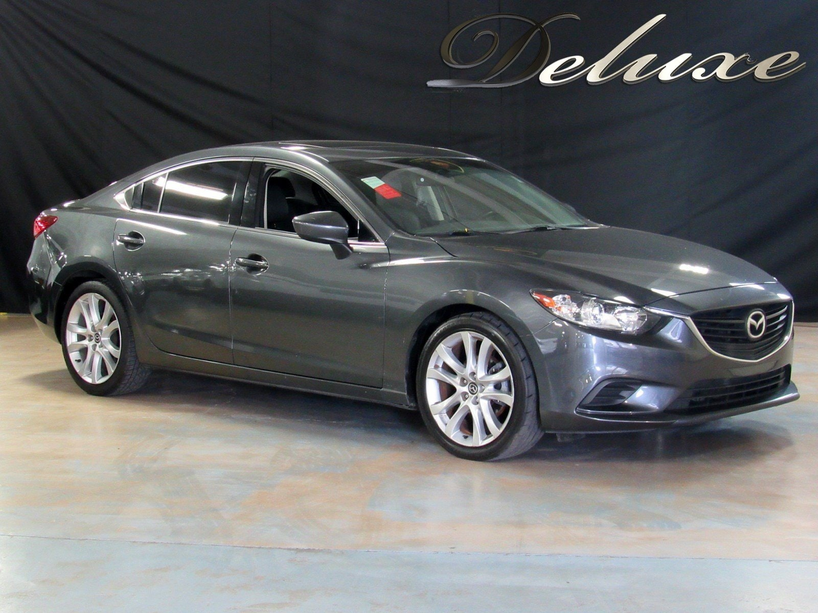 2015 Mazda Mazda6 i Touring Sedan, Remote Keyless Entry, Rear-View Camera, Touch Screen Audio, Bluetooth Technology, Bose Premium Sound System, Front Leather Bucket Seats, Power Sunroof, HID Headlights, 17-Inch Alloy Wheels,