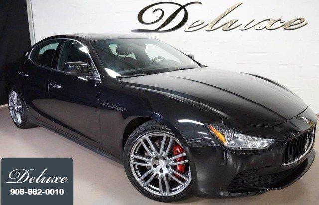 2015 Maserati Ghibli S Q4 AWD, Navigation, Rear-View Camera, 404-HP Twin-Tur