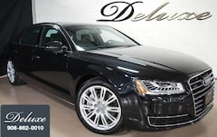 2015 Audi A8 L 4.0T Quattro AWD, Premium Pkg, Navigation, Rear-View Camera, Blind Spot Monitor, Bluetooth Streaming Audio, Bose Surround Sound, Heated/Ventilated Leather Seats, Panorama Sunroof, 20-Inch Alloy Wheels,