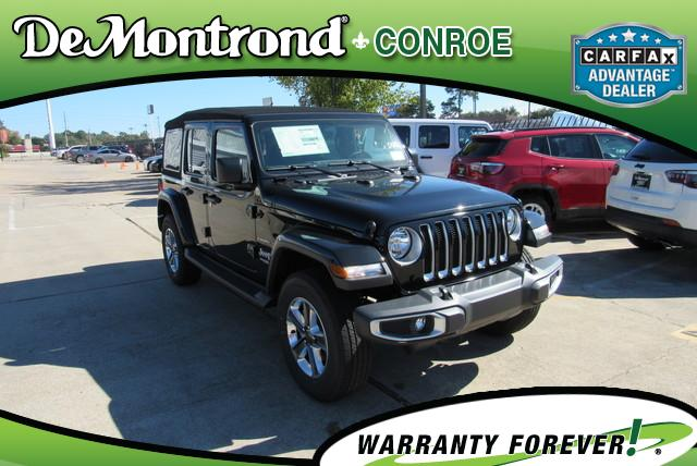 for sale in Conroe TX near Houston 2018 Jeep Wrangler UNLIMITED SAHARA 4X4 Sport Utility New
