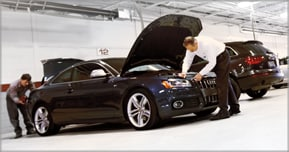 audi collision repair and auto body shop in Colorado Springs