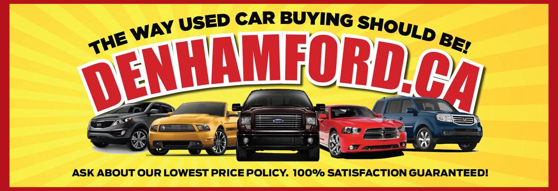 Denham Ford Dealership Wetaskiwin AB | Near Edmonton