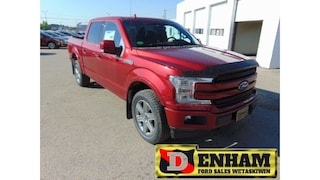 New 2018 Ford F-150 LARIAT 3.5L ECOBOOST, NAV, B/TOOTH, LEATHER, LOADE Truck SuperCrew Cab 1FTEW1EG5JFC05716 in Wetaskiwin, AB