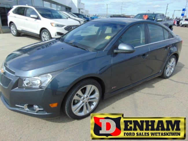 Pre-Owned 2013 Chevrolet Cruze LT Turbo Sedan in Wetaskiwin