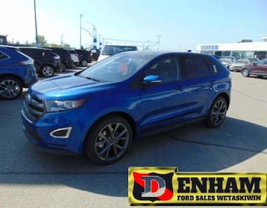 2018 Ford Edge SPORT 2.7L ENGINE, NAV, M/ROOF, B/TOOTH, ADAPT CRU SUV