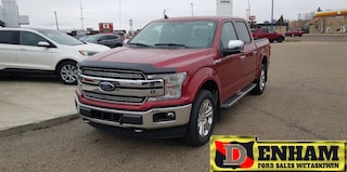 New 2019 Ford F-150 LARIAT 2.7L ECOBOOST, TECH PACKAGE, CHROME PACKAGE Truck SuperCrew Cab 1FTEW1EP5KKC80845 in Wetaskiwin, AB