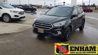 Used 2018 Ford Escape TITANIUM 2.0L ECOBOOST, NAV, M/ROOF, LEATHER, SPOR SUV 1FMCU9J94JUA67418 in Wetaskiwin, AB