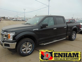 New 2019 Ford F-150 XLT 3.5L ECOBOOST, MAX TR TOW, XTR PACKAGE, REMOTE Truck SuperCrew Cab 1FTFW1E42KFB30730 in Wetaskiwin, AB