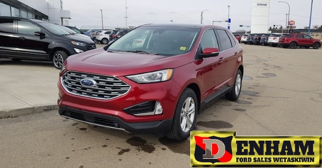 New 2019 Ford Edge SEL 2.0L ECOBOOST, NAV, MOONROOF, ADAPTIVE CRUISE, SUV in Wetaskiwin
