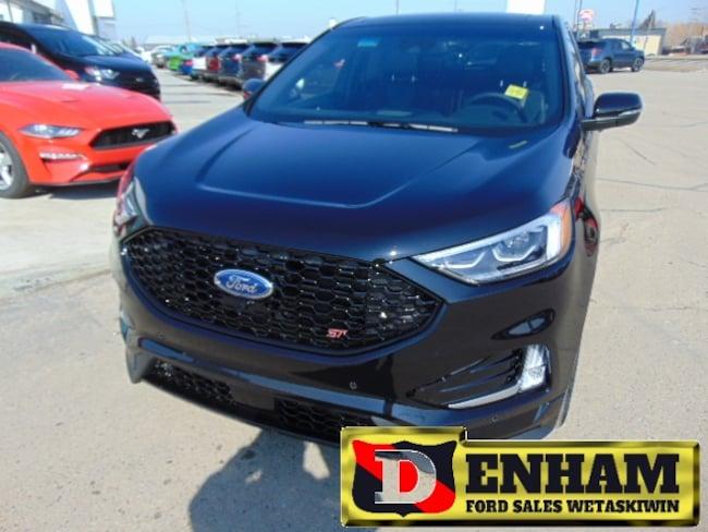 New 2019 Ford Edge ST 2.7L GTDI V6 ENGINE, NAV, M/ROOF, ADAPTIVE CRUI SUV in Wetaskiwin