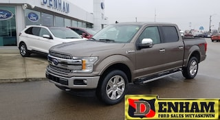 2019 Ford F-150 SuperCrew LARIAT 3.5L ECOBOOST, MAX TR TOW, MOONROOF, CHROME Truck SuperCrew Cab