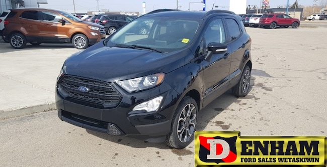 New 2019 Ford EcoSport SES 2.0L REMOTE START, 4GWIFI MODEM, AUTO CLIMATE SUV in Wetaskiwin