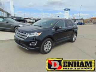 Used 2017 Ford Edge SEL 3.5L, M/ROOF, NAV, B/TOOTH LEATHER TRIM SUV 2FMPK4J87HBB99641 in Wetaskiwin, AB