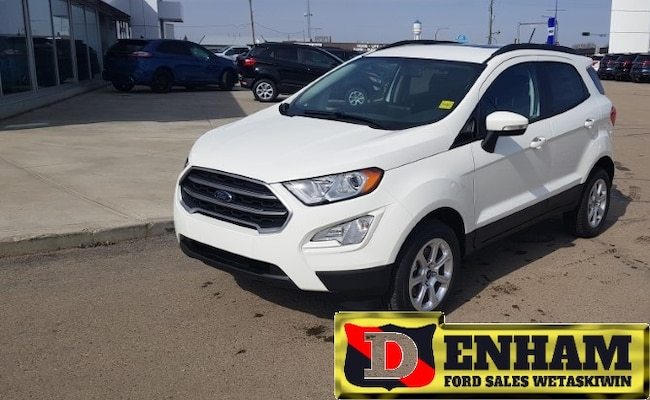 New 2019 Ford EcoSport SE 2.0L NAVIGATION, 4G WIFI MODEM, REMOTE START, C SUV in Wetaskiwin