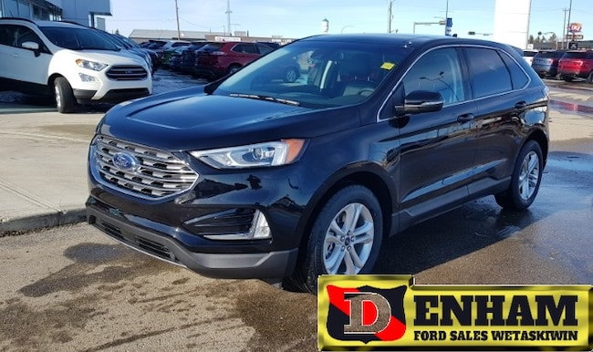 New 2019 Ford Edge SEL 2.0L ECOBOOST, NAV, M/ROOF, CO PILOT 360 ASSIST, HEATED STEERING WHEEL SUV in Wetaskiwin
