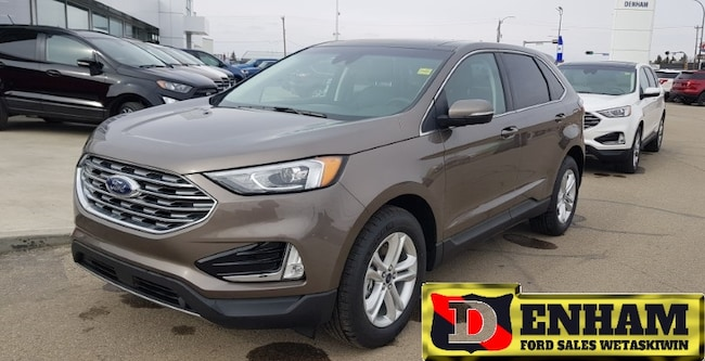 New 2019 Ford Edge SEL 2.0L ECOBOOST, NAV, MOONROOF, ADAPTIVE CRUISE SUV in Wetaskiwin