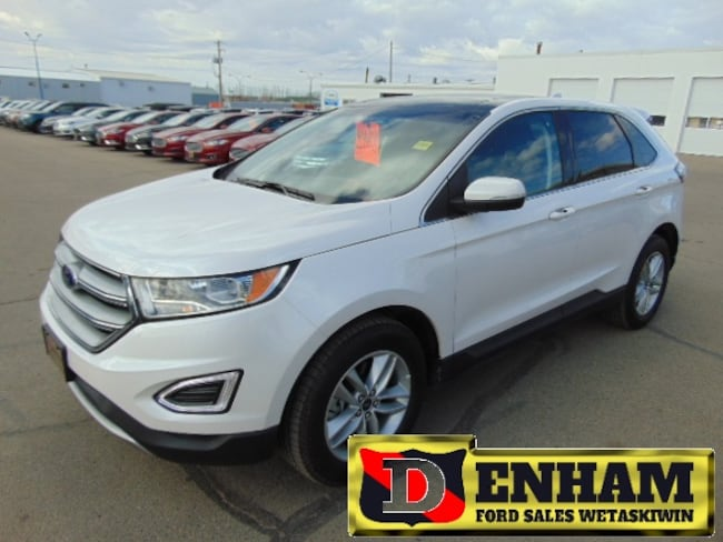 Pre-Owned 2018 Ford Edge SEL 2.0L ECOBOOST CANADIAN TOURING PKG, M/ROOF, NA SUV in Wetaskiwin