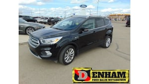2017 Ford Escape TITANIUM 2.0L ECOBOOST, M/ROOF, NAV, B/TOOTH, LEAT