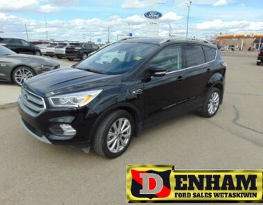 2017 Ford Escape TITANIUM 2.0L ECOBOOST, M/ROOF, NAV, B/TOOTH, LEAT SUV