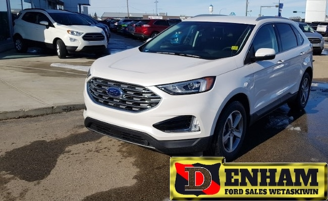 New 2019 Ford Edge SEL 2.0L ECOBOOST, NAV, CO PILOT 360, COLD WEATHER PKG SUV in Wetaskiwin