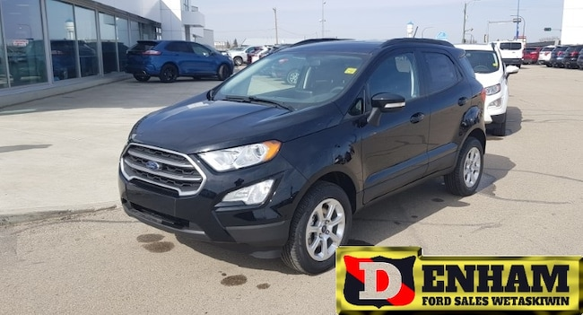 New 2019 Ford EcoSport SE 2.0L , NAVIGATION, 4G WIFI MODEM, AUTO CLIMATE SUV in Wetaskiwin