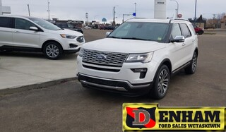2019 Ford Explorer PLATINUM 3.5L ECOBOOST, DUAL CAPTAIN CHAIRS LOADED SUV