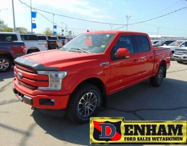 2018 Ford F-150 LARIAT 5.0L BLUETOOTH, TR. TOW PACKAGE, LEATHER Truck SuperCrew Cab