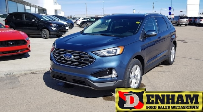 New 2019 Ford Edge SEL 2.0L ECOBOOST, CO PILOT 360, CONVENIENCE PKG,  SUV in Wetaskiwin