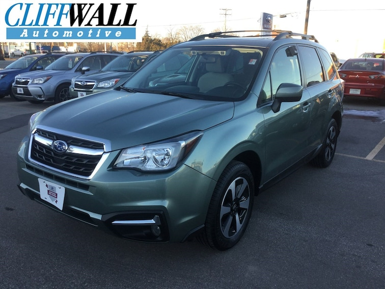 Certified Used 2018 Subaru Forester 2.5i Premium SUV In Green Bay