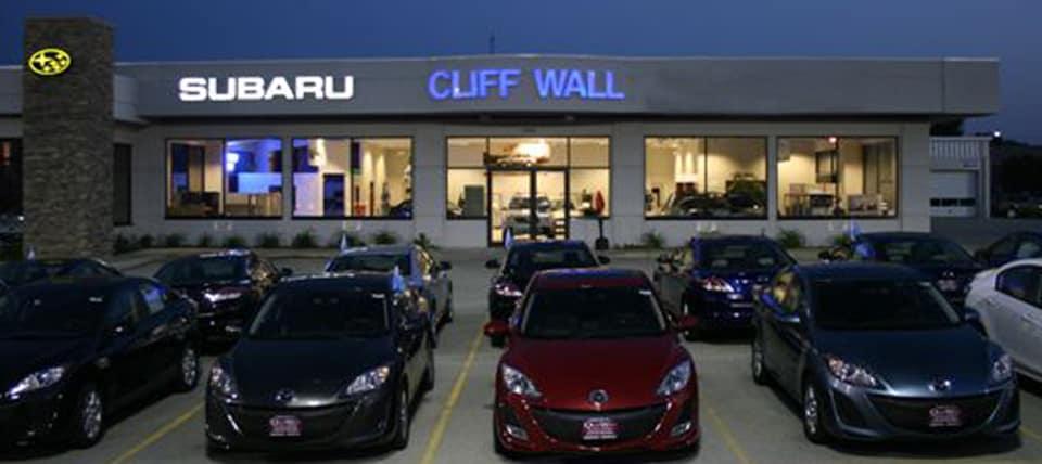 About Cliff Wall Subaru New Subaru And Used Car Dealer Green Bay