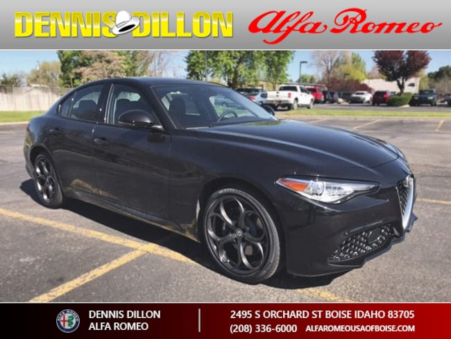 New 2017 Alfa Romeo Giulia Ti AWD Sedan in Boise