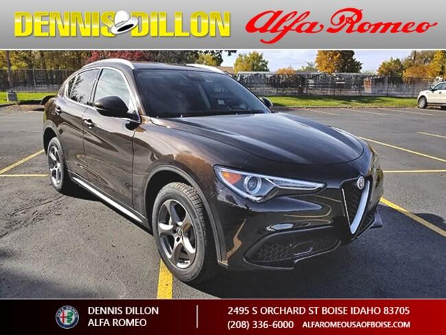 New 2018 Alfa Romeo Stelvio AWD Sport Utility in Boise