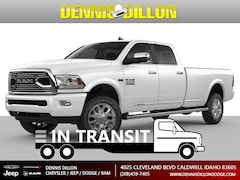 New 2018 Ram 3500 LIMITED CREW CAB 4X4 8' BOX Crew Cab in Caldwell