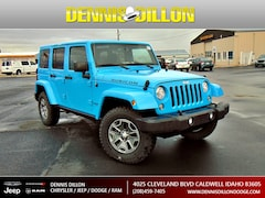 New 2017 Jeep Wrangler JK Rubicon Sport Utility in Caldwell