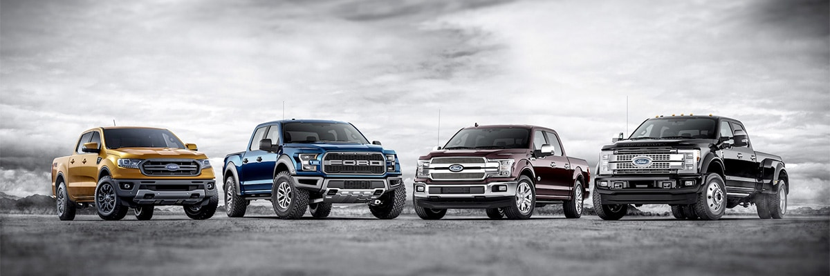2020 Ford Pick Up Lineup In Edmonton, Alberta
