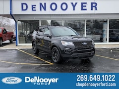 New 2019 Ford Explorer Sport SUV in Vicksburg, MI