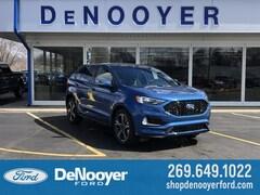 New 2019 Ford Edge ST Crossover in Vicksburg, MI