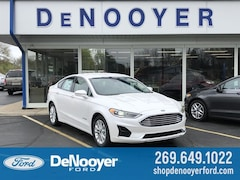 New 2019 Ford Fusion Hybrid SEL Sedan in Vicksburg, MI