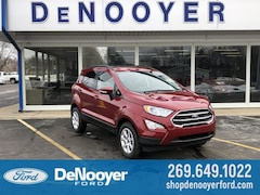 New 2019 Ford EcoSport SE Crossover in Vicksburg, MI