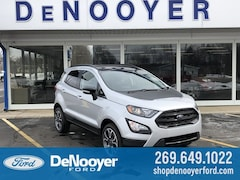 New 2019 Ford EcoSport SES Crossover in Vicksburg, MI