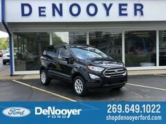 New 2019 Ford EcoSport SE Crossover in Vicksburg, MI