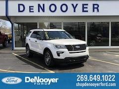 New 2019 Ford Explorer Sport SUV 1FM5K8GT2KGA76470 KGA76470 in Vicksburg, MI